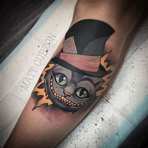 mad hatter tattoo designs cool cheshire cat mad hatter venice