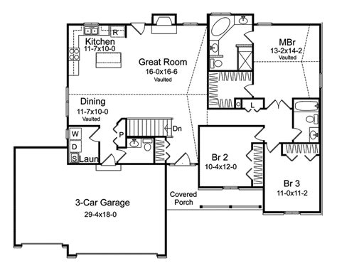 ranch farmhouse plan 058d 0098 house plans and more