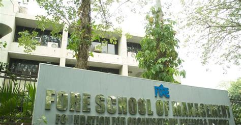 Fore Mba Ranking by Fore School Of Management Admission Fore School Of