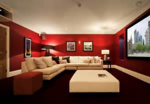 houzz media room best wall color for media room w wall decal