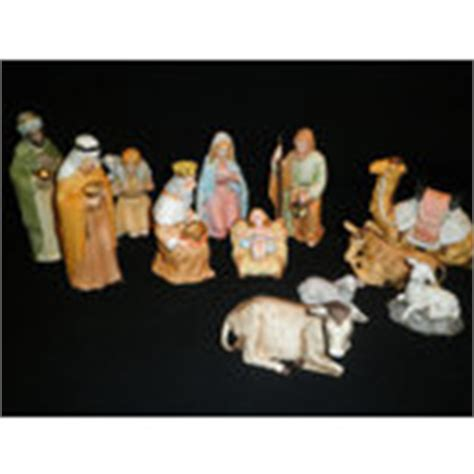home interiors nativity set vintage homco home interiors nativity set 5599 w extras