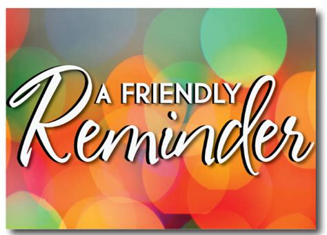 Friendly Reminder Lucky Shops by Just A Friendly Reminder Clipart Clipart Suggest