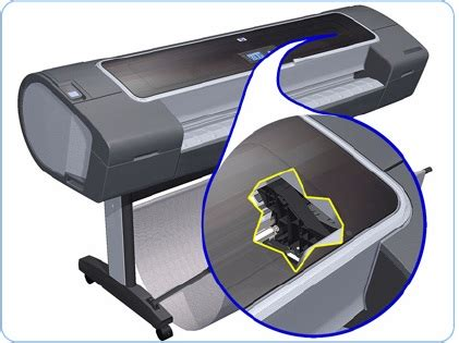 Encoder Printer Hp hp designjet printers cleaning the encoder hp 174 customer support