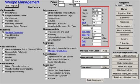 weight management tools free setma epm tools weight management tutorial