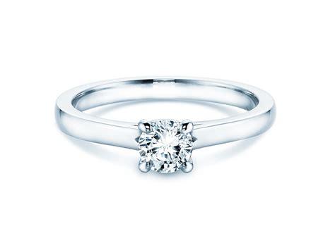 Verlobungsringe Silber Mit Diamant by Verlobungsring In Silber Mit Diamant 0 50ct