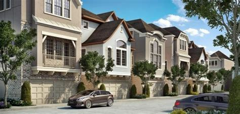 royal oaks square city homes in houston tx by david