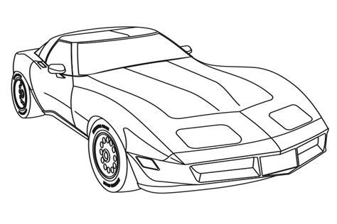 coloring pages fast cars car fast and furious pencil and in color car