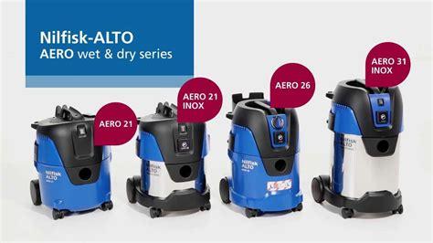 Nilfisk Vacuum Cleaner Multi 20 Inox nilfisk alto aero