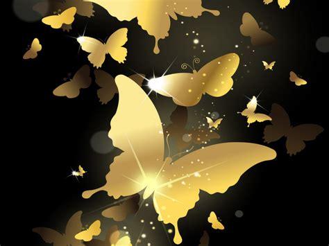 wallpaper gold butterfly flying golden butterflies hd wallpaper 8652