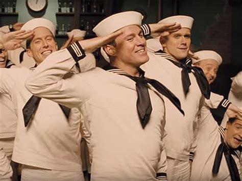film terbaik channing tatum channing tatum gets down as a 1950s sailor in new coen
