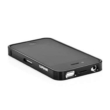 Capdase Bumper For Iphone 5s capdase alumor bumper for iphone 4s 4 black mobilezap australia