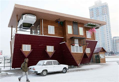 houses in russia upside down house in russia blog totallycoolpix com