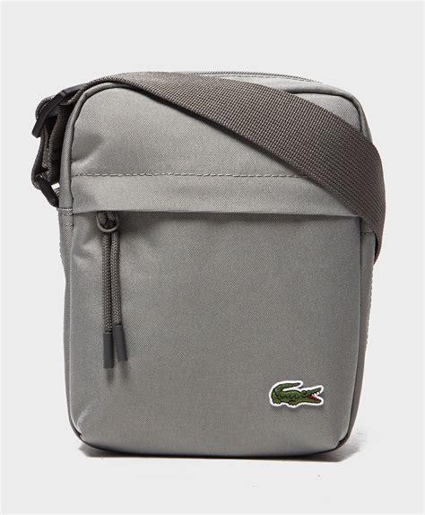 Lomberg Bag Marshell Sling Grey lacoste mini bag in gray for lyst