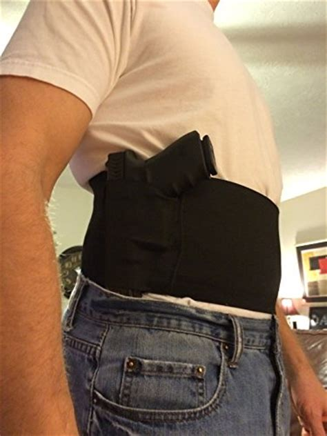 yosoo belly band holster concealed carry adjustable hand