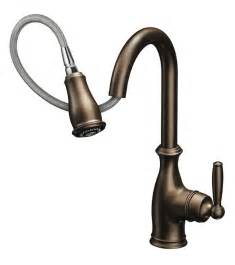 moen bronze kitchen faucets moen 7185csl brantford one handle high arc pulldown kitchen faucet featuring reflex classic