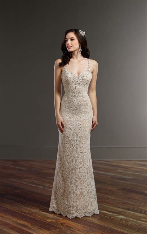 All Wedding Dresses by All Lace Wedding Dress With Low Back Martina Liana