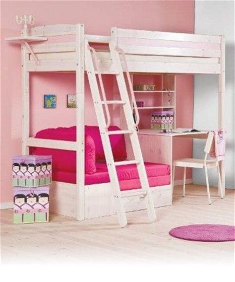 girls loft bed with desk bed and desk combo teens trendy 28 whitewash loft bed