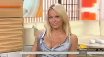 how much does dylan dreyer make a year pamela anderson 48 takes the plunge in silver dress on