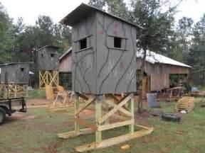deer shooting house plans shooting house plans smalltowndjs
