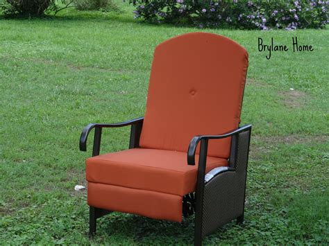 patio makeover with brylane home furnishings simply