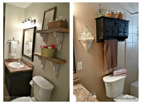 small bathroom makeovers casual cottage big changes without big money small bathroom makeover