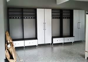 garage closets design garage with lockers modern garage and shed baltimore