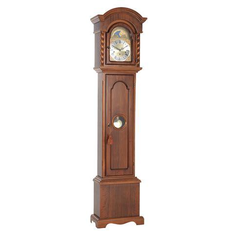 floor clocks billib corinthian walnut grandmother floor clock