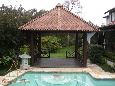 mini gazebo mini wooden gazebo with roof for backyard with square pool