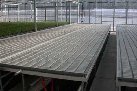 ebb and flow table irrigation systems center for agriculture food and the