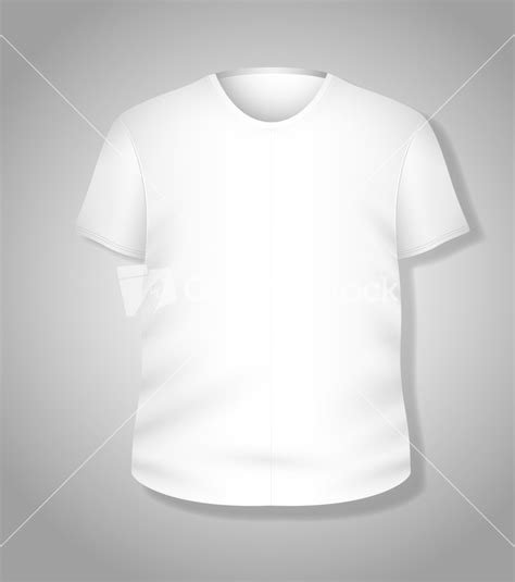 simple t shirt template simple white t shirt design vector illustration template
