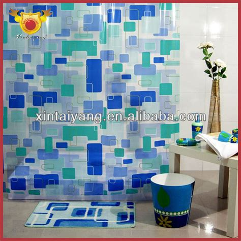 shower curtain fish design fish design bathroom drapes printed clear pvc shower