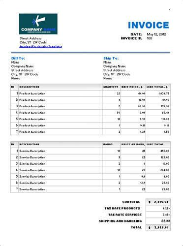 product invoice template 17 service invoice templates free pdf word excel formats
