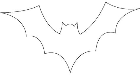 bat template printable 8 best images of bats for bat stencils printable free