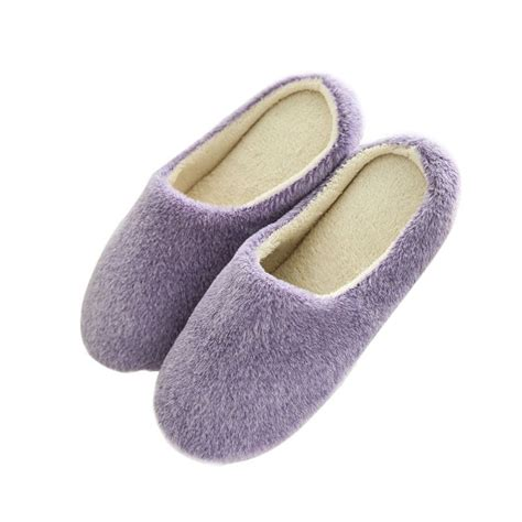 womens soft slippers winter soft indoor slippers anti slip floor