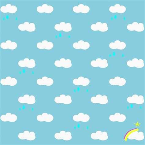 Free Background Papers For Card - free printable rainy clouds and rainbow pattern paper