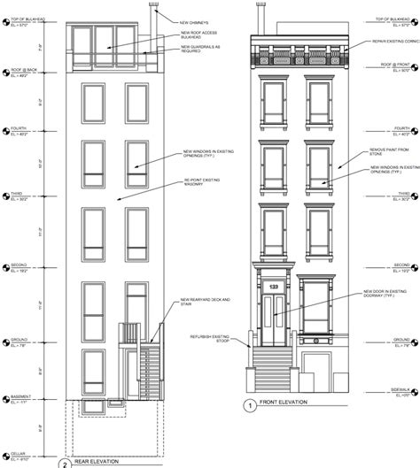 Townhouse Plans Narrow Lot by Townhomes Plans Over 5000 House Plans