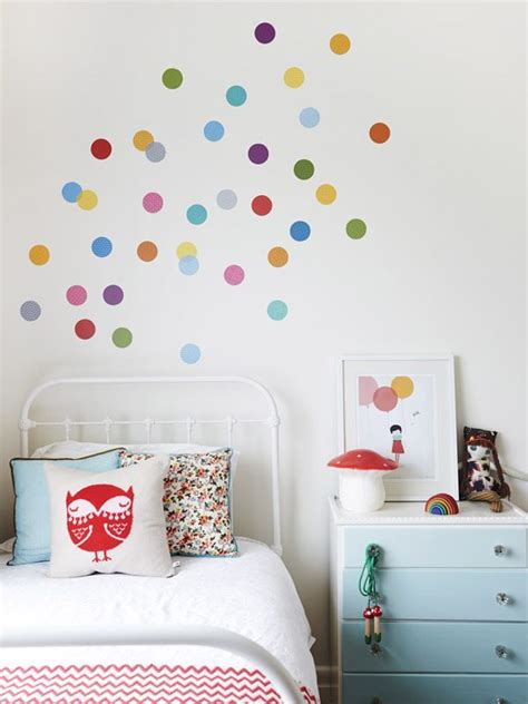 kid room decals polka dot decals for room walls mums make lists