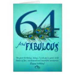 happy 64th birthday cards zazzle
