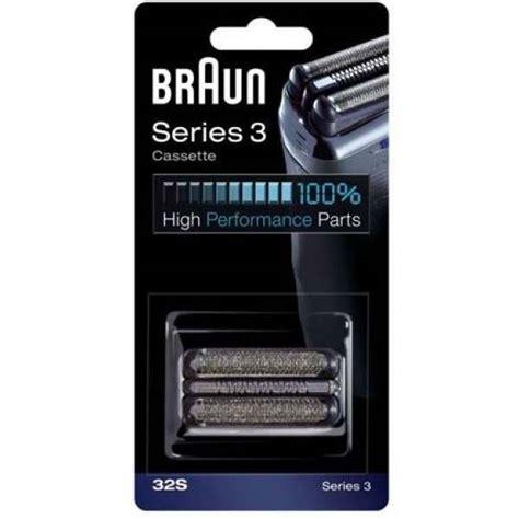 braun 32s cassette foil cutter pack