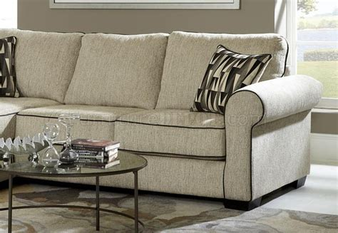 daisy couch 347709 daisy sofa chaise in cream fabric by chelsea