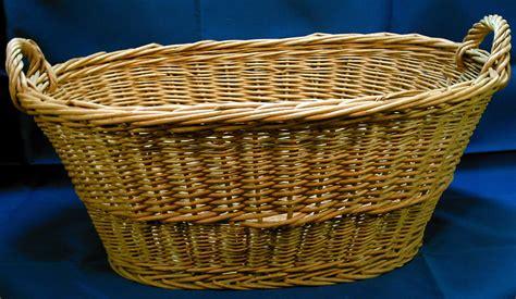 Large Wicker Basket Laundry Basket Large Wicker Laundry