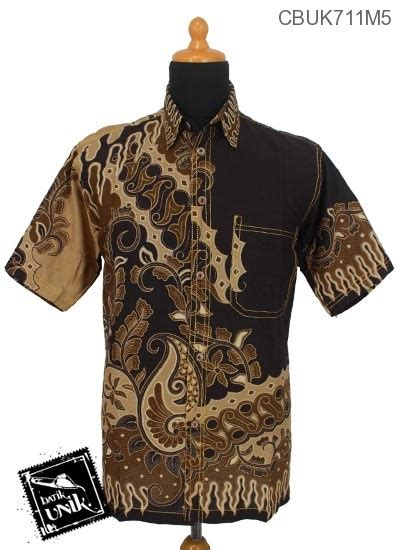 Batik Printing Berbahan Katun Primisima Dengan Motif Parang Prada baju batik kemeja smok katun motif parang geni kembang alas kemeja lengan pendek murah