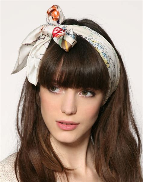 6 different ways to wear a headband faith allen hair design 25 best ideas about headband scarf on pinterest silk