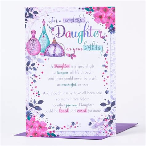 free printable birthday cards uk printable birthday greeting cards for daughter infocard co