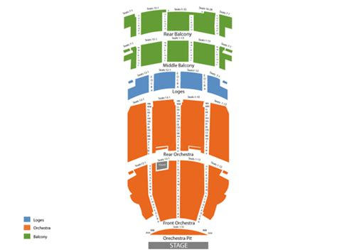akron civic theatre seating chart viptix akron civic theatre tickets