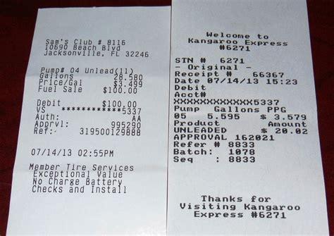 gas station receipt template expressexpense custom receipt maker receipt