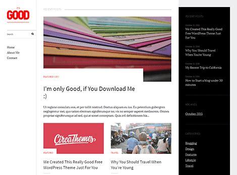 wordpress themes free good theme wordpress good responsive free centerklik