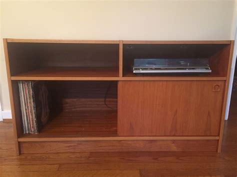 danish modern stereo cabinet danish modern teak audio console storage cabinet epoch