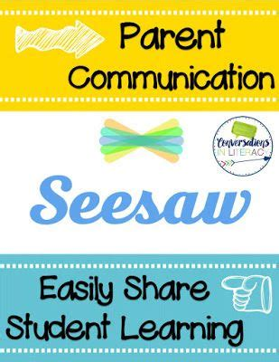 Parent Letter Seesaw Guided Reading The Learning Conversations In Literacy Bloglovin