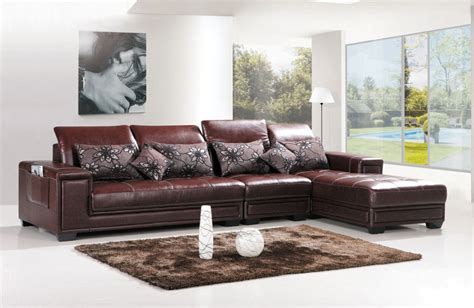 leather l shape sofa the 25 best brown l shaped sofas